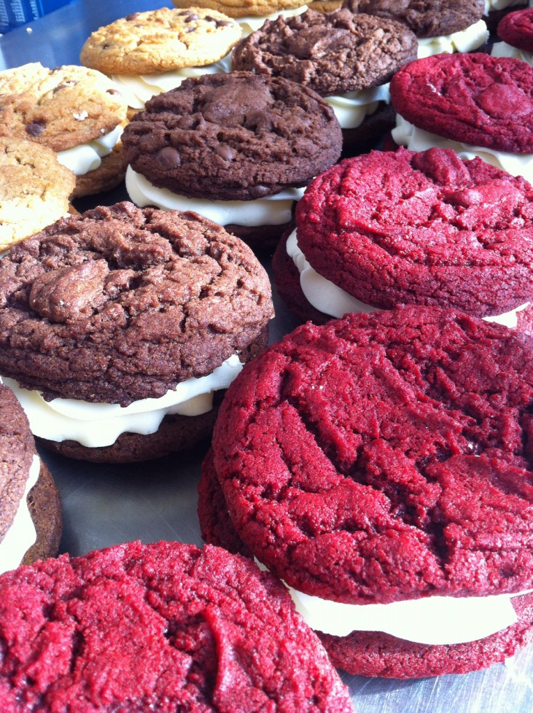 Cookie Sandwich, Vegan, Buttercream, Icing, Red Velvet, Chocolate, Chocolate Chip
