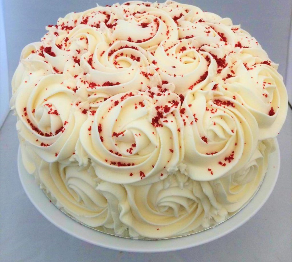 Chocolate Chip Cake Red Velvet Vegan Roses Buttercream